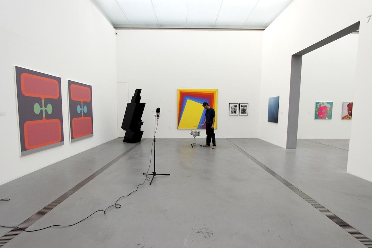 VOLUMES, recording in Lentos exhibition space ©Faxen